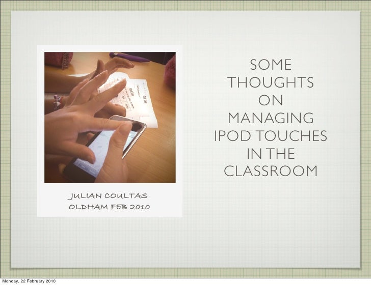 Ipod Touch Conf
