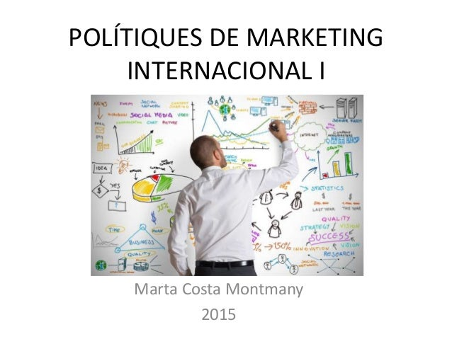 POLÍTIQUES DE MARKETING INTERNACIONAL I Marta Costa Montmany 2015
