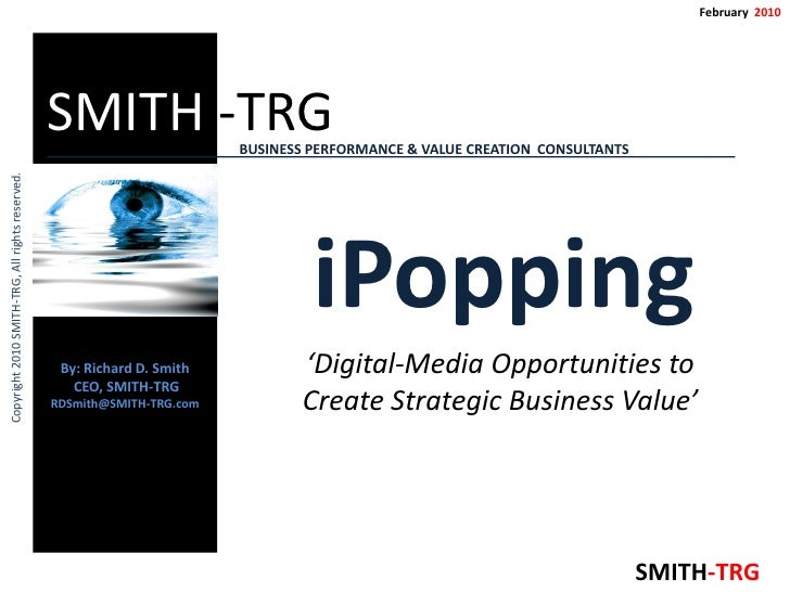 February 2010                                                      SMITH -TRG              BUSINESS PERFORMANCE & VALUE CR...