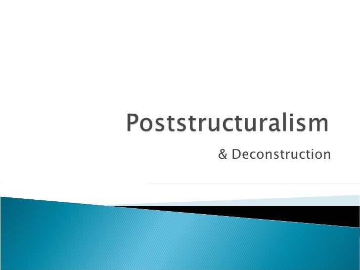 & Deconstruction