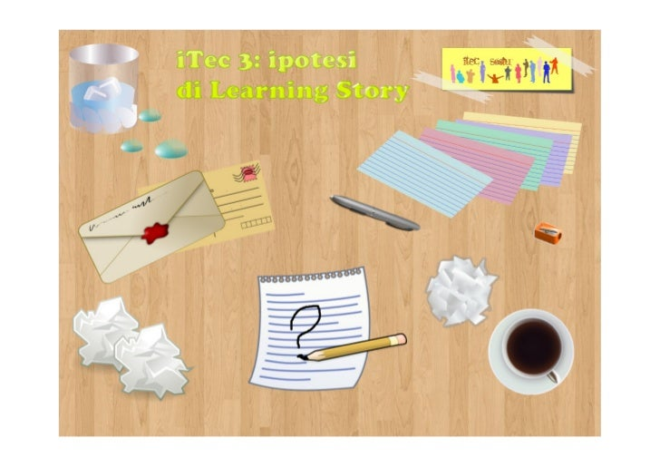 Ipotesi di learning story per i tec3