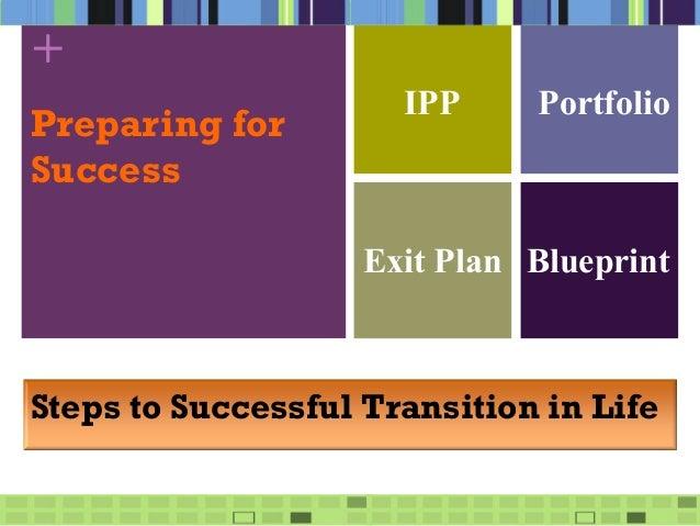 Individual Pathway Plans (IPPs)