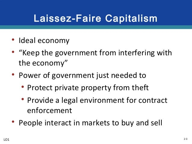 why is capitalism the ideal economic