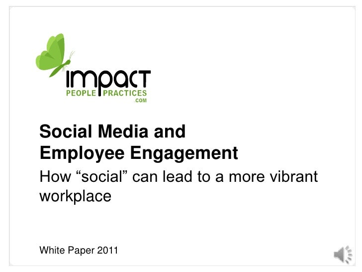 Impact People White Paper Social Media and workplace