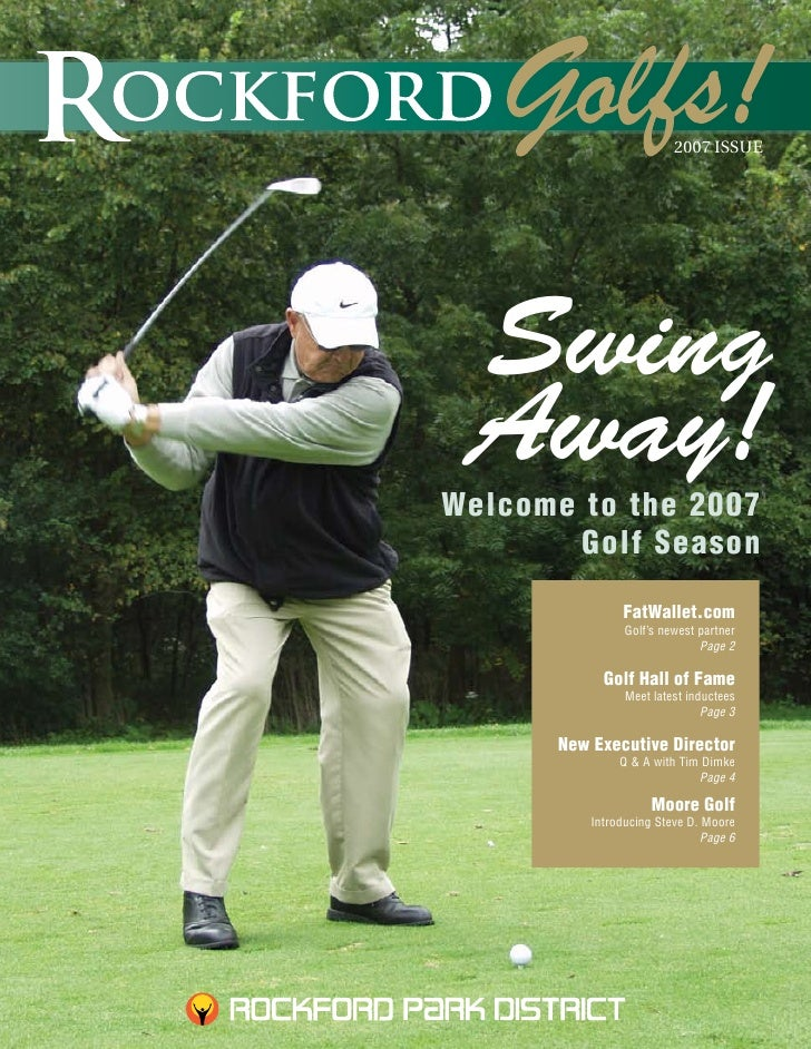 2007 ISSUE      Swing  Away! Welcome to the 2007         Golf Season                 FatWallet.com                 Golf's ...