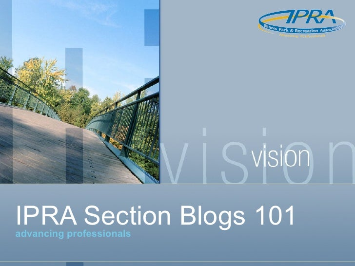 IPRA Section Blogs 101