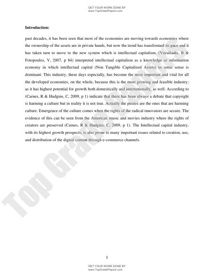 Ipr economical   academic essay assignment - www.topgradepapers.com