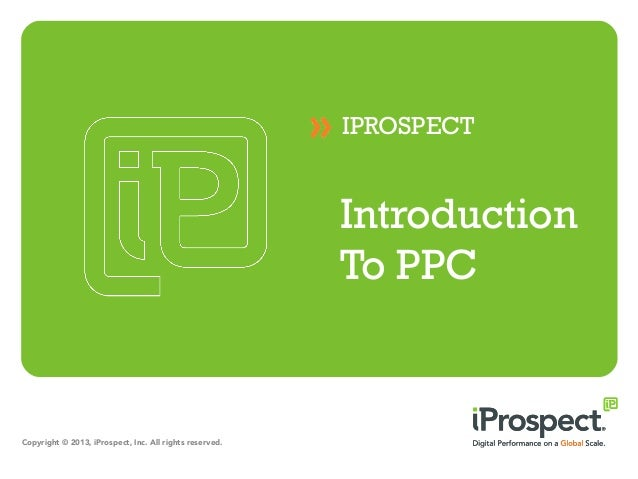 IPROSPECT                                                         Introduction                                            ...