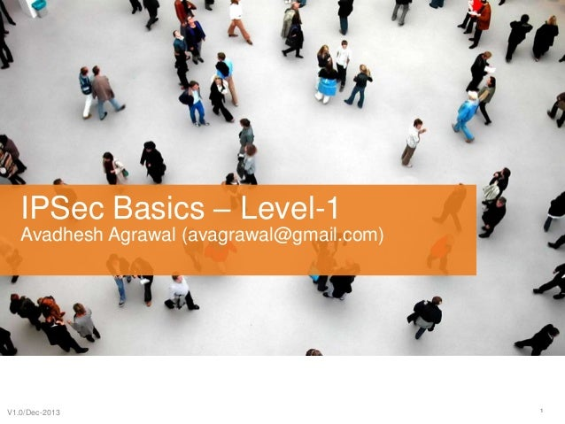 IP Sec - Basic Concepts