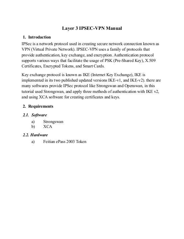 IPSec VPN Tutorial Part1