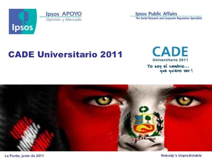 CADE Universitario 2011