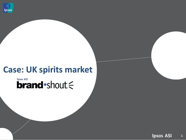 Case: UK spirits market  1