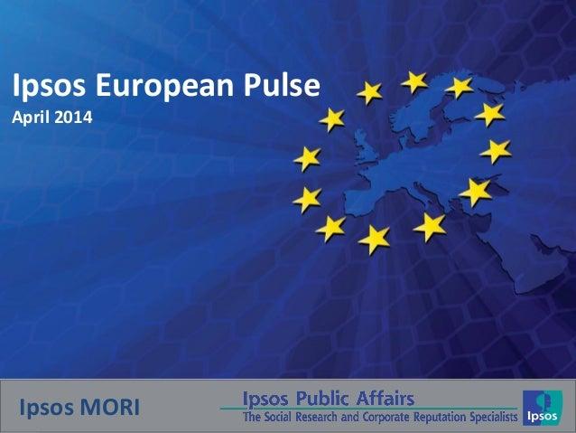 Ipsos European Pulse: Responses to the situation in Ukraine
