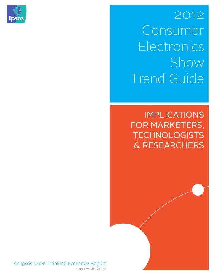 2012                                               Consumer                                              Electronics      ...