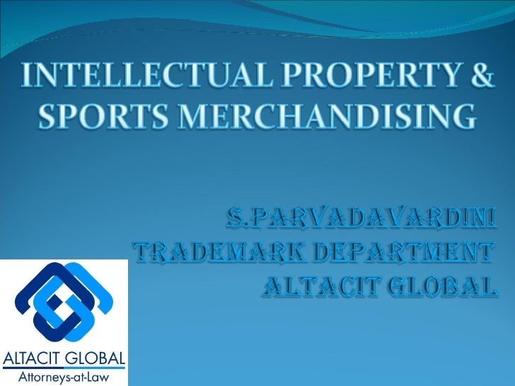 Ip & sports merchandising
