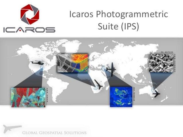 Icaros Photogrammetric Suite (IPS)