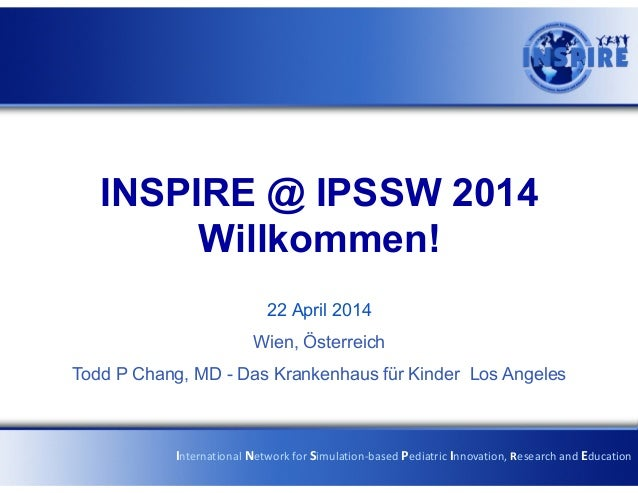 Ipssw2014 welcome
