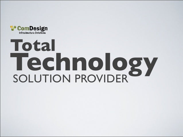 TotalSOLUTION PROVIDERTechnology