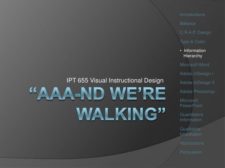 Ipt655 Wk5 Info Hierarchy