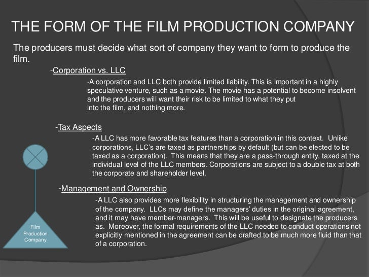 Business Plan For Film Production Company Review Literature - Film production company business plan template