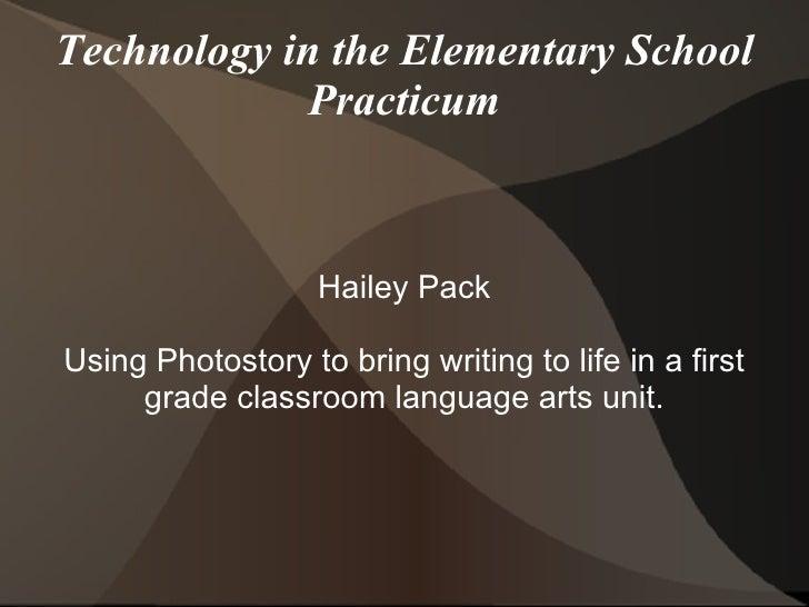 Technology In Practicum