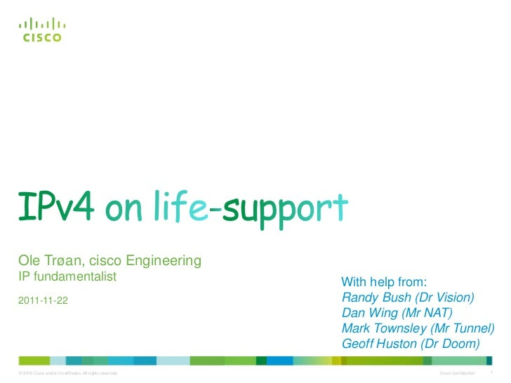 Ole - Ipv4onlifesupport