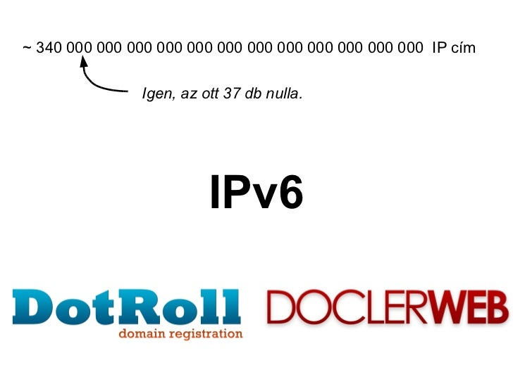 IPv6 tartalomszolgáltatóknak
