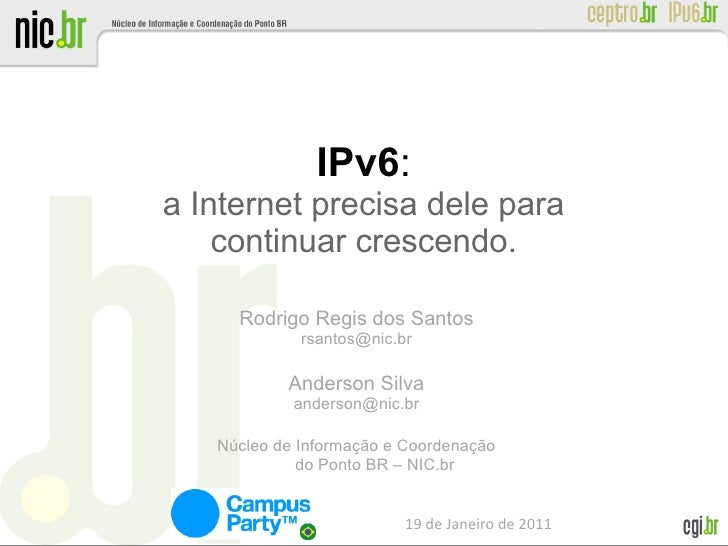 I pv6 cparty2011