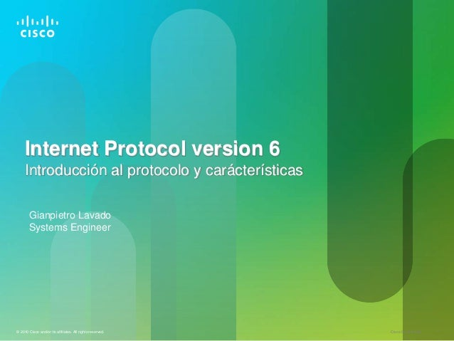 internet protocol version 6 Ipv4 vs ipv6 ipv6 is short for internet protocol version 6 ipv6 is the internet's next-generation protocol, designed to replace th.