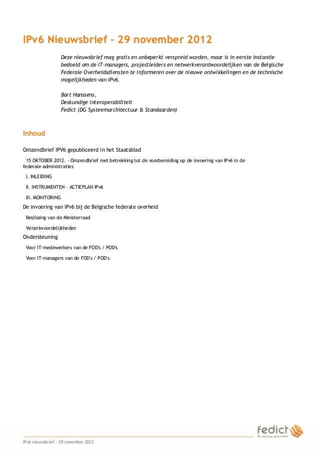 IPv6 news-nl-20121129