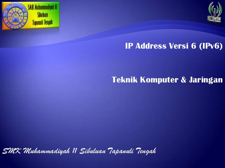 IP Address versi 6