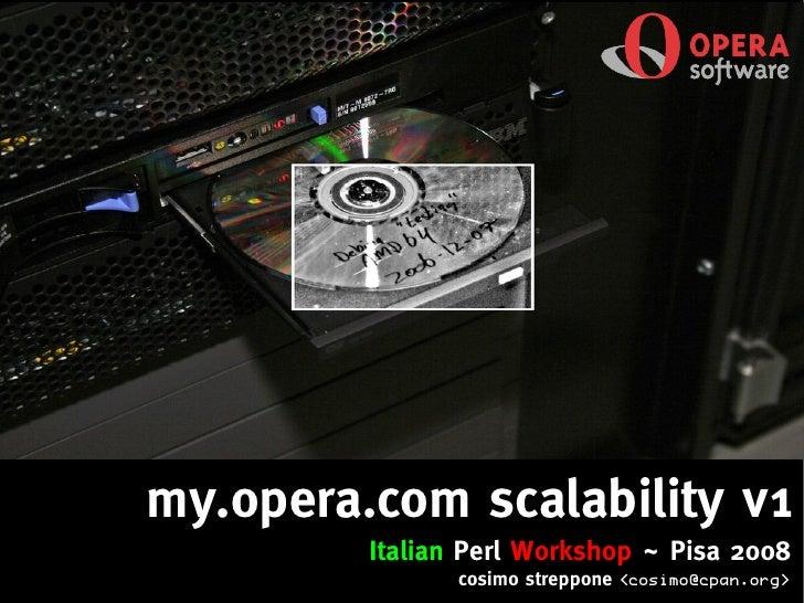IPW2008 - my.opera.com scalability