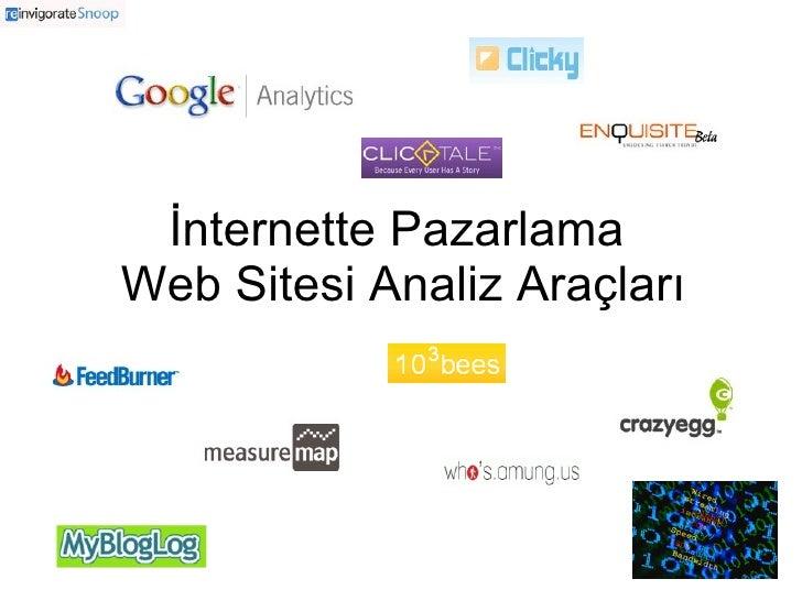 İnternette Pazarlama Web Sitesi Analiz Araçları
