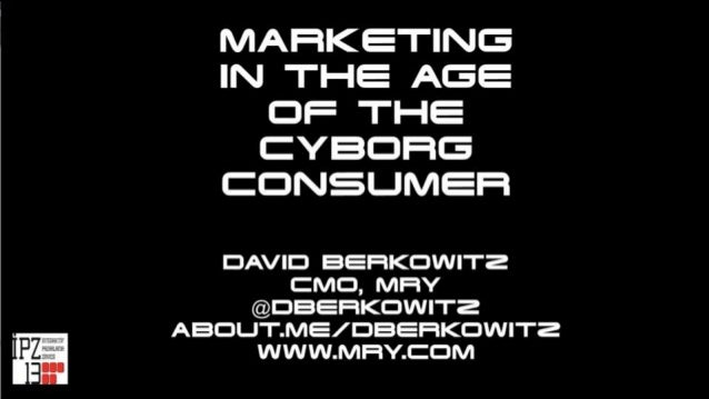 Marketing in the Age of the Cyborg Consumer - The Future of Wearable Technology