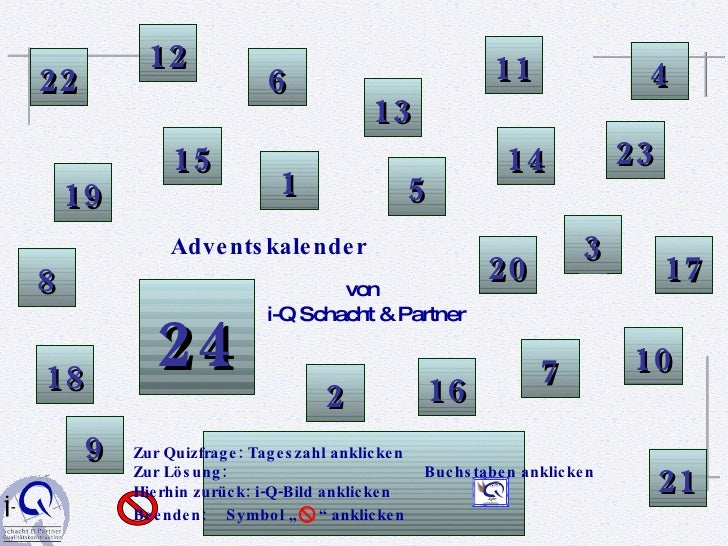 I Q Adventskalender Quiz 2008(2)