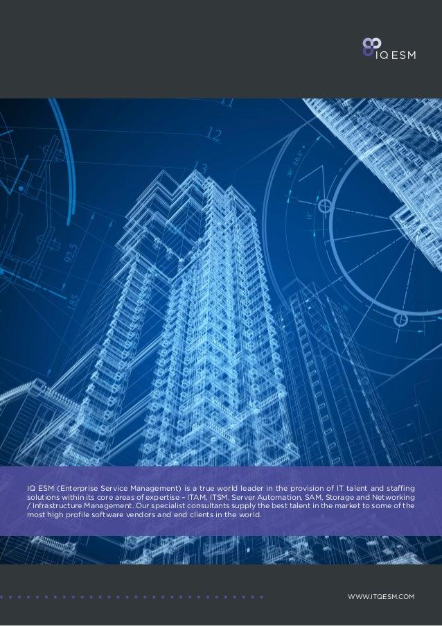 IQ ESM Brochure