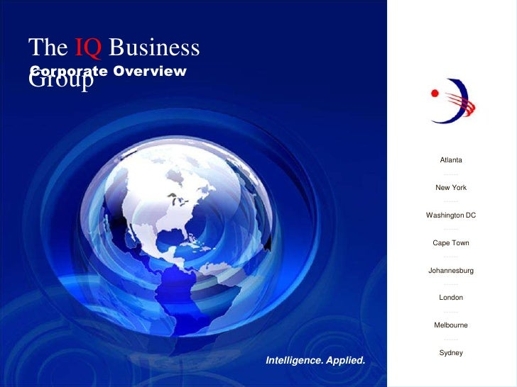 The IQ Business Group