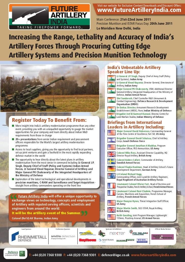 Future Artillery India