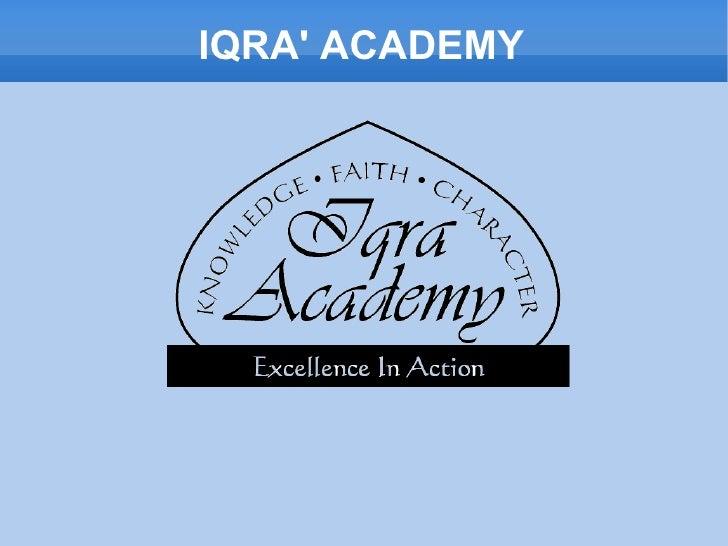 IQRA' ACADEMY