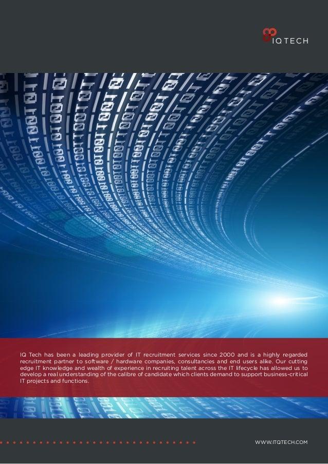 IQ Tech Brochure