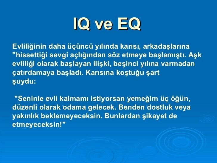 IQ ve EQ