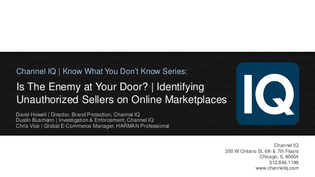 Is The Enemy at Your Door? | Identifying Unauthorized Sellers on Online Marketplaces