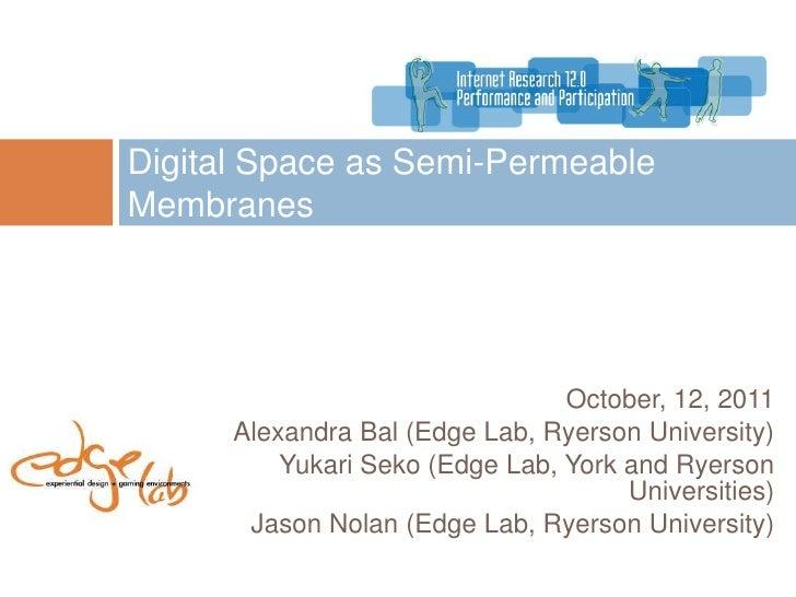 AoIR2011 digital natives presentation