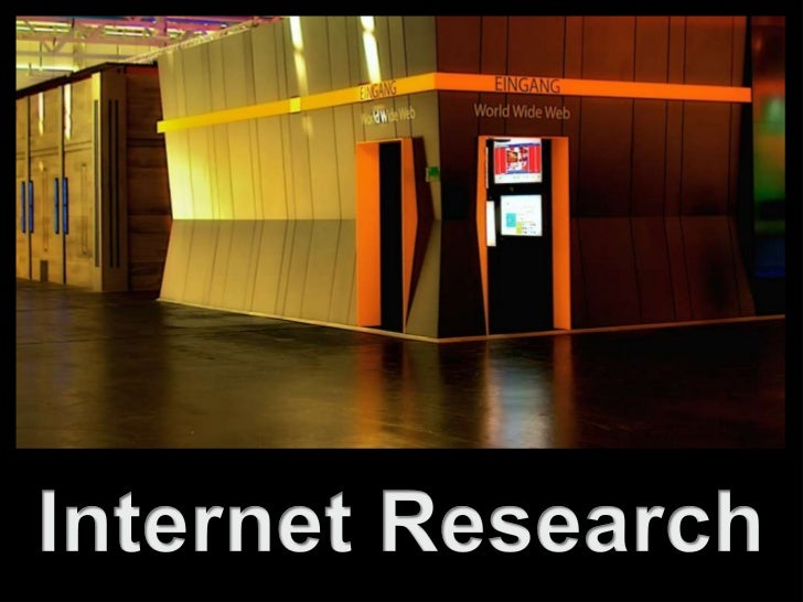 Internet Research<br />