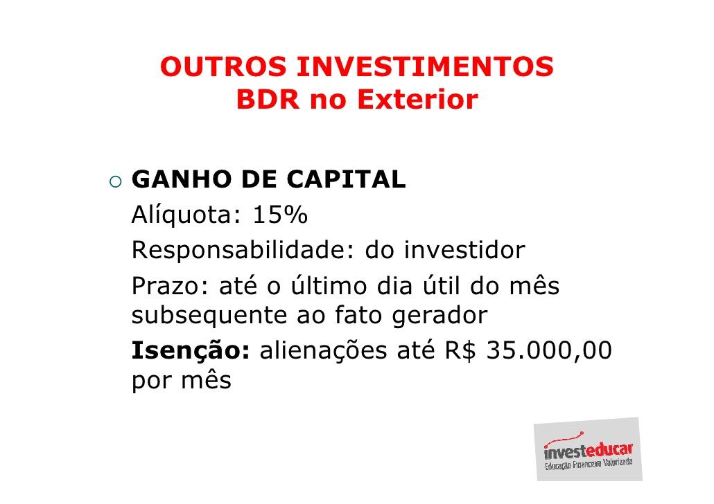 Curso de Imposto de Renda - Investeducar
