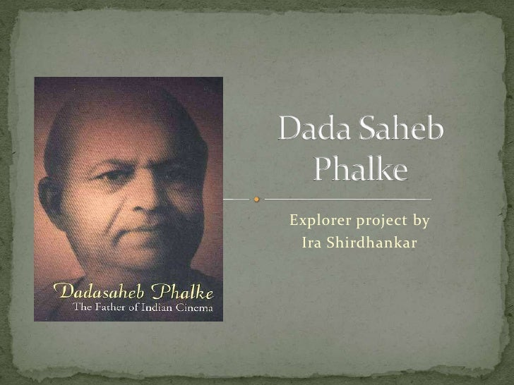 Ira dadasaheb phalke