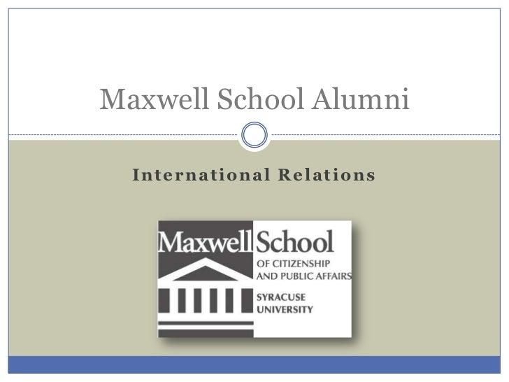 IR Alumni  & LinkedIn