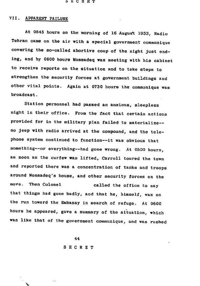 Operation Ajax Declassified PDF 7 of 9