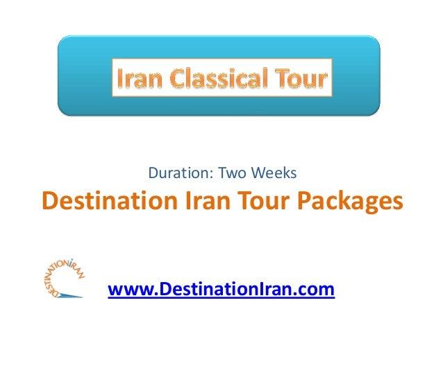 Iran Classical-Tour