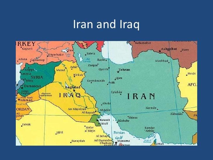 Iran and Iraq<br />